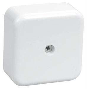 Коробка распаячная КМ41205-01 для открытой проводки 50х50х20мм белая IEK
