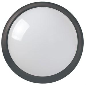 Светильник светодиодный ДПО 5011 8Вт 4000K IP65 круг черный IEK