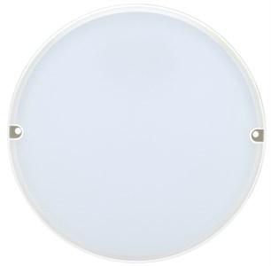 Светильник светодиодный ДПО 2004 8Вт 6500K IP54 круг белый IEK