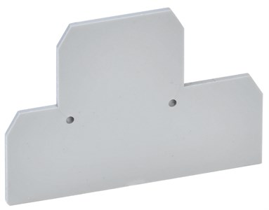 Заглушка для КВИ-4-2L двухуровневой 4мм2 серая IEK