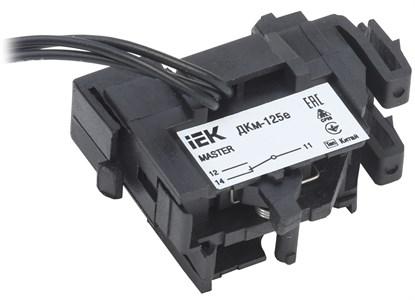 Контакт дополнительный ДКм-125е (ДКм-32) для ВА88-32 MASTER с электронным расцепителем IEK