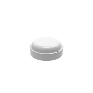 Светильник ЖКХ Gauss ECO круг 8W 680lm 4000K 160-260V IP65 D140*51мм белый 1/40