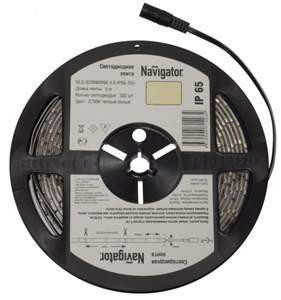 СД Лента Navigator 71 405 NLS-3528G60-4.8-IP65-12V R5