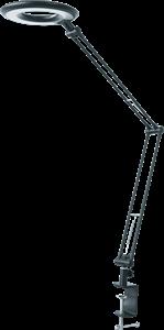 Светильник Navigator 71 574 NDF-C005-9W-4K-BL-LED на струбцине, чёрный