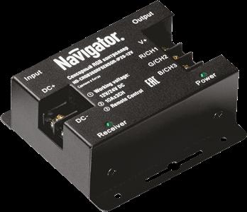 Контроллер Navigator 71 493 ND-CRGB360RFSENSOR-IP20-12V