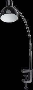 Светильник Navigator 61 405 NDF-C010-6W-4K-BL-LED на струбцине, чёрный