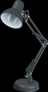 Светильник Navigator 61 644 NDF-D023-60W-BL-E27 на основании, черный