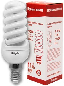 Navigator  NCLP-SF-11-827-E14  11W Pro   94 098   для ЖКХ