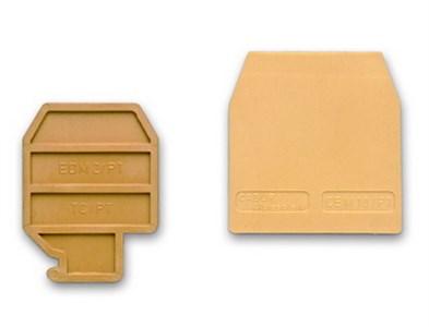 DKC ZHM401GR HMT.1/PTGR, торцевой изолятор серый для НММ.1