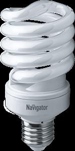 Navigator Лампа компактная люминесцентная полуспираль 30W 6000K NCL-SH10-30-860-E27