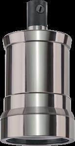 Navigator  NLH-V02-005-E27 подвес.метал. черный хром Патрон электрический 61 725