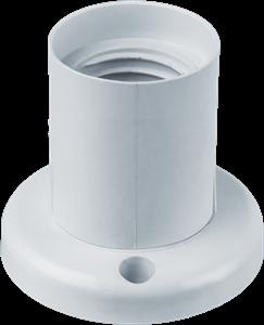 Navigator  NLH-PL-W2-E27 Патрон пластик потолочный прямой 14 017