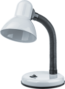 Светильник Navigator 61 635 NDF-D026-60W-WH-E27 на основании, белый