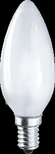 Navigator  NH-C35-42-230-E14-FR свеча мат. галоген.  94 241