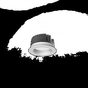 """Светильник светодиодный """"ВАРТОН"""" DL-PRO круглый встраиваемый 103*58мм 10W 4000K IP65 диаметр монтажного отверстия 90мм"""