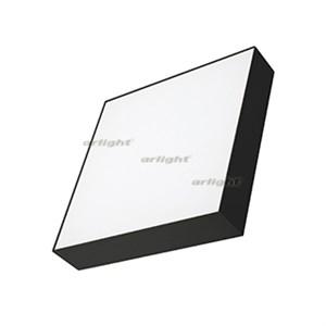 Светильник SP-QUADRO-S300x300-36W Warm3000 (BK, 120 deg, 230V) (arlight, IP40 Металл, 3 года)