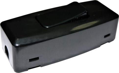 Выключатель для бра NE-AD 10А, 250В , цвет черный