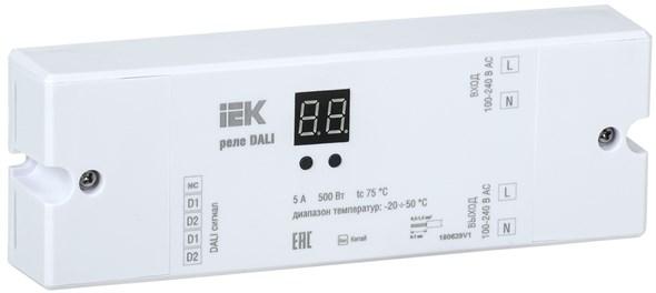 Реле DALI 500Вт (1 контакт) 230В IEK