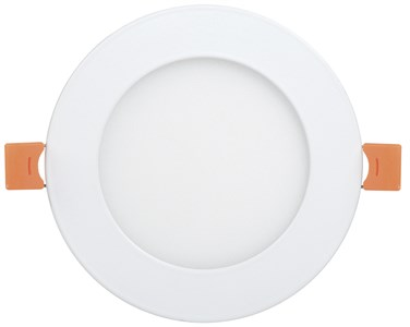 Светильник светодиодный ДВО 1601 круг 7Вт 3000K IP20 белый IEK