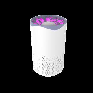 Очиститель-рециркулятор воздуха с ультрафиолетовым излучением бактерицидный Gauss серия Guard, площадь очистки 20 метров, 1/8/32