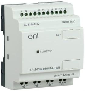 Логическое реле PLR-S. CPU0804(R) 220В AC без экрана ONI