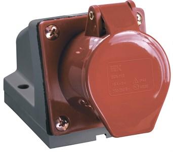 Розетка стационарная ССИ-125 3Р+РЕ+N 32А 380-415В IP44 IEK