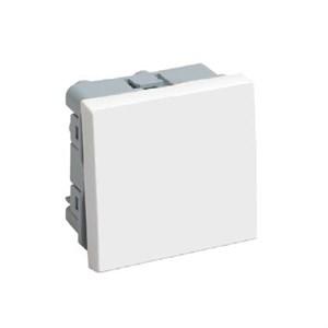 Выключатель одноклавишный ВКО-21-00-П (на 2 модуля) ПРАЙМЕР белый IEK