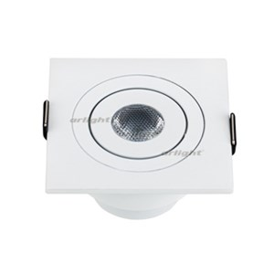 Светодиодный светильник LTM-S60x60WH 3W White 30deg (ARL, IP40 Металл, 3 года)