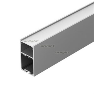 Профиль с экраном SL-LINE-3667-2500 ANOD+OPAL (ARL, Алюминий)