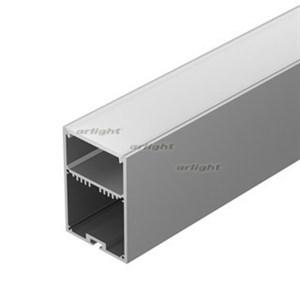 Профиль с экраном SL-LINE-4970-2500 ANOD+OPAL (ARL, Алюминий)