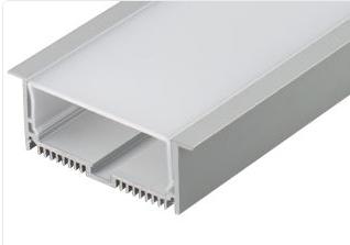 Профиль с экраном SL-LINIA88-F-2500 ANOD+OPAL (ARL, Алюминий)
