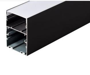 Профиль ARH-LINE-6085-2000 BLACK (Arlight, Алюминий)