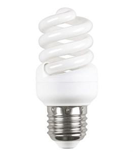 IEK Лампа энергосберегающая спираль КЭЛ-FS Е27 11Вт 2700К Т2