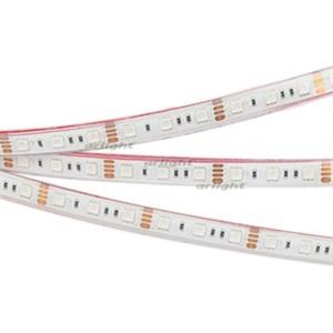 Лента RTW 2-5000PGS 12V RGB 2x (5060, 300 LED, LUX) (ARL, 14.4 Вт/м, IP67)