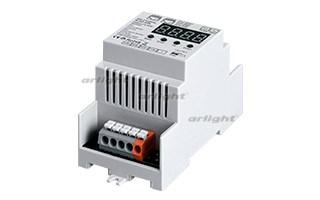 Декодер DMX SR-2108FA-RJ45-DIN (12-36V, 240-720W, 4CH) (ARL, IP20 Пластик, 3 года)