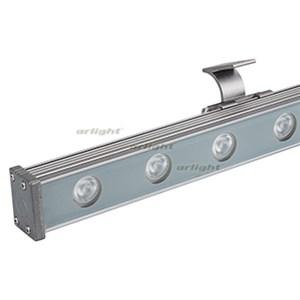 Светодиодный прожектор AR-LINE-1000S-18W-24V RGB (Grey, 30 deg, DMX512) (Arlight, Закрытый)