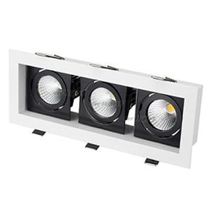 Светильник CL-KARDAN-S260x102-3x9W White (WH-BK, 38 deg) (ARL, IP20 Металл, 3 года)