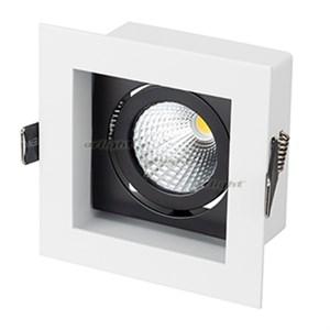 Светильник CL-KARDAN-S102x102-9W Warm (WH-BK, 38 deg) (ARL, IP20 Металл, 3 года)