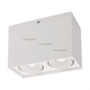 Светильник SP-CUBUS-S100x200WH-2x11W Day White 40deg (Arlight, IP20 Металл, 3 года)