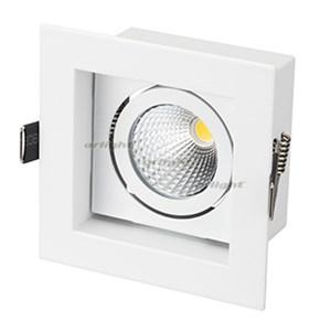 Светильник CL-KARDAN-S102x102-9W Warm (WH, 38 deg) (ARL, IP20 Металл, 3 года)
