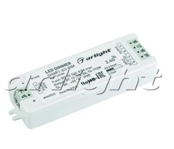 Диммер SMART-D3-DIM (12-24V, 8A, 2.4G) (ARL, IP20 Пластик, 5 лет)