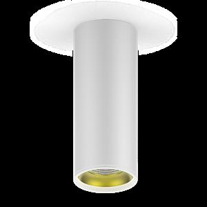 Светильник Gauss Overhead накл цил 12W 900lm 3000K 170-240V IP20 79*200мм белый золото LED 1/30
