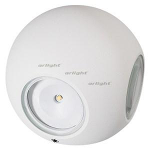 Светильник LGD-Wall-Orb-4WH-8W Warm White Arlight