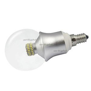 Светодиодная лампа E14 CR-DP-G60 6W Day White (ARL, ШАР)