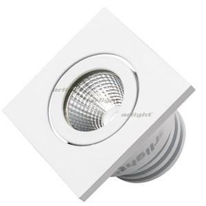 Светодиодный светильник LTM-S50x50WH 5W Warm White 25deg (ARL, IP40 Металл, 3 года)