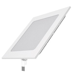 Светильник Gauss Slim квадрат 15W 1100lm 4000K 180-265V IP20 монтаж Ø155*155 170*170*22 LED 1/20