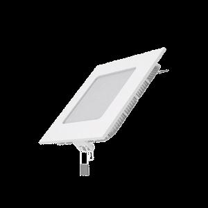 Светильник Gauss Slim квадрат 6W 400lm 4000K 180-265V IP20 монтаж Ø105*105 120*120*22 LED 1/20