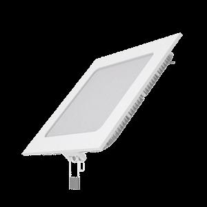Светильник Gauss Slim квадрат 9W 610lm 3000K 180-265V IP20 монтаж Ø130*130 145*145*22 LED 1/20