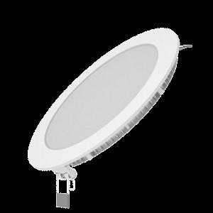 Светильник Gauss Slim круг 12W 880lm 3000K 180-265V IP20 монтаж Ø155 170*22 LED 1/20