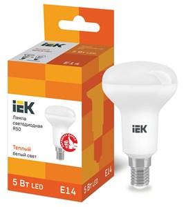 Лампа светодиодная R50 рефлектор 5Вт 230В 3000К E14 IEK
